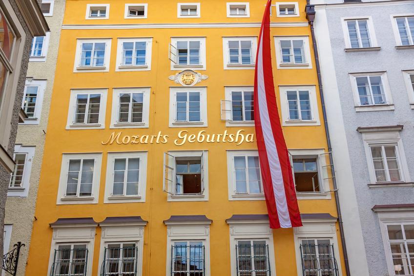 Birth house of Wolfgang Amadeus Mozart, Salzburg