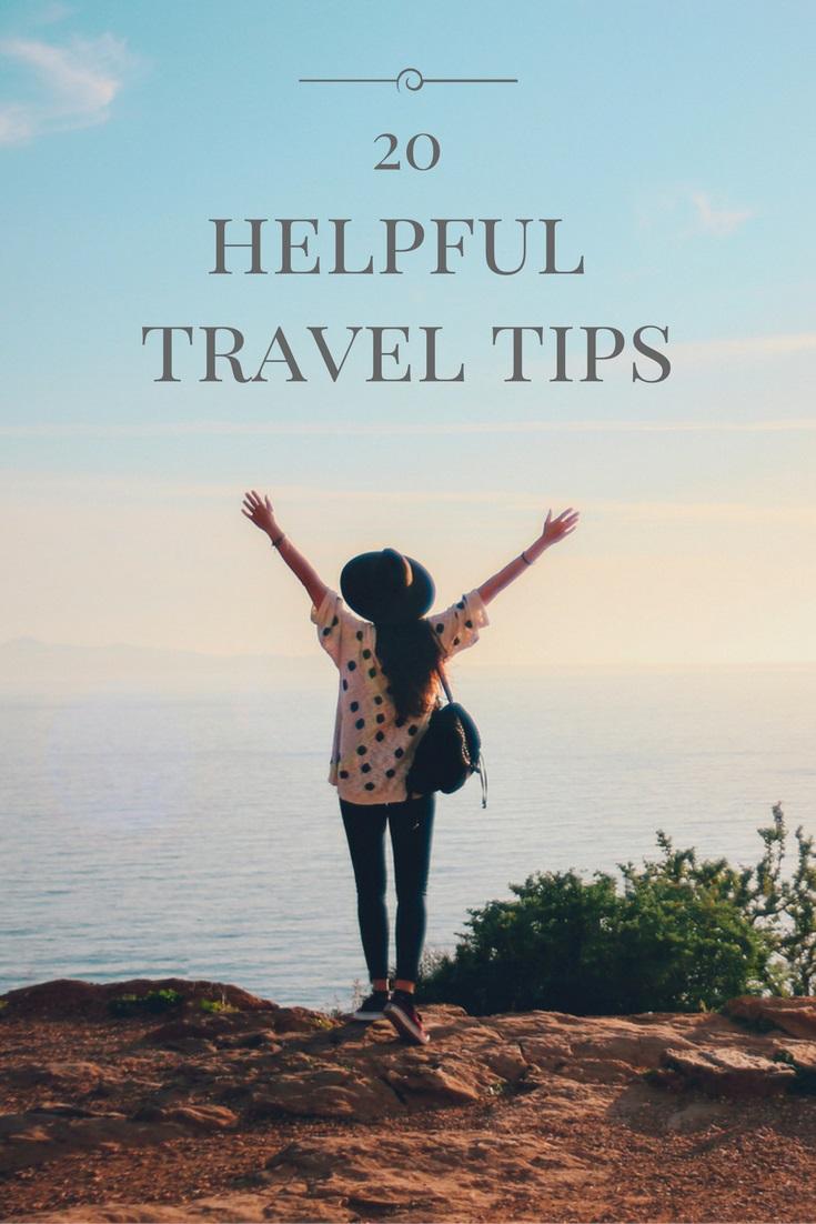 20 helpful travel tips