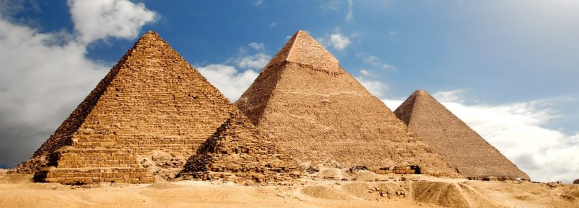 The Pyramids of Giza (Egypt)
