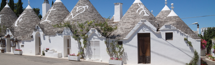 Trulli homes in Italy