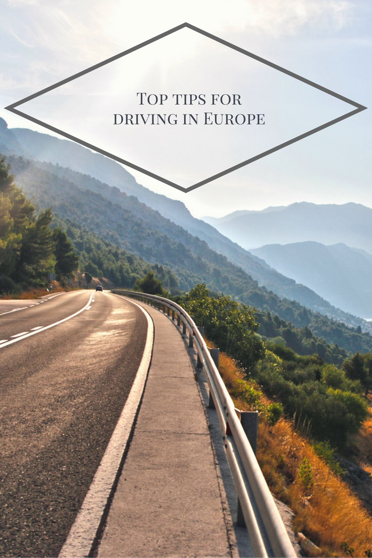 Top tips for driving in Europe