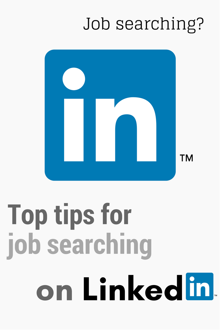 Top tips for job searching on Linkedin