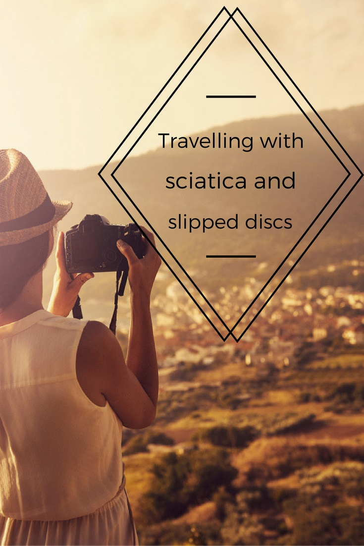 Tips for travelling with sciatica and slipped discs