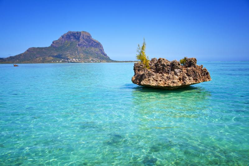 Seascape of Mauritius