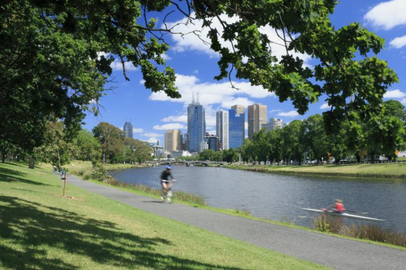 River in Melbourne