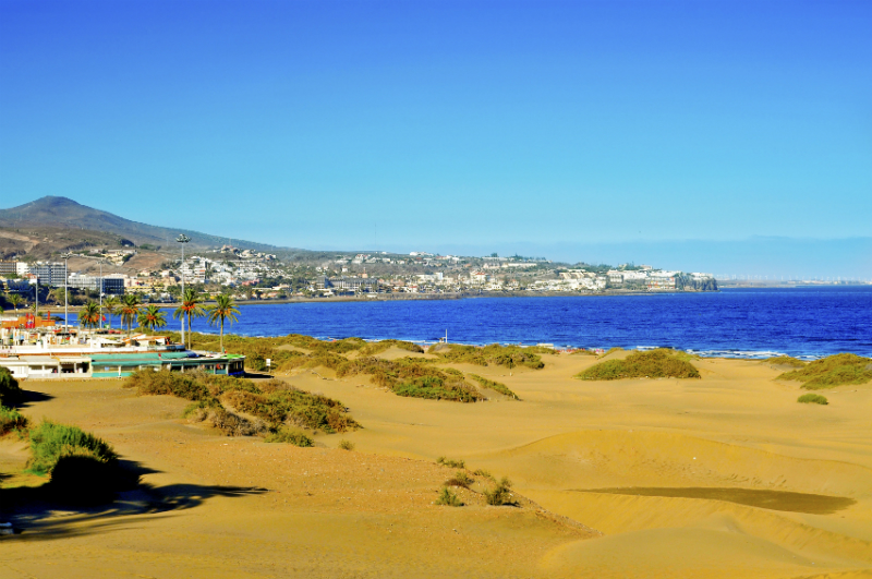 Playa De Ingles Gran Canaria