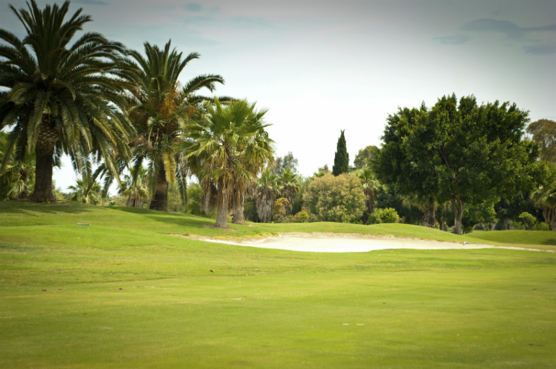 Spanish golf course