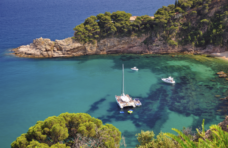 Costa Brava on Spanish Coast