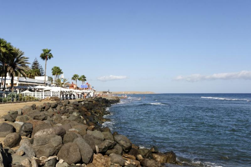 Maspalomas coast,Gran Canaria