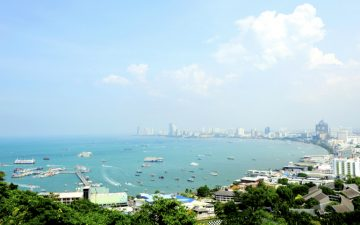 View out to sea, Pattaya