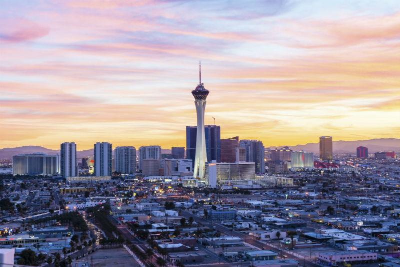 Las Vegas Skyline at dawn
