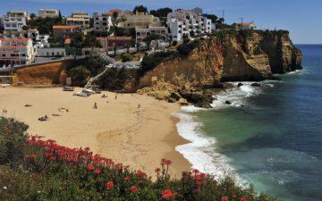 Carvoeiro beach Algarve, Portugal