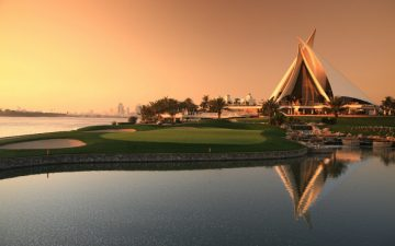 Dubai Golf Course Club House