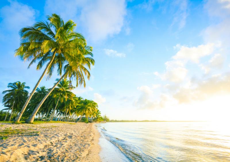 The Caribbean Beach, Bay of Pigs, Cuba
