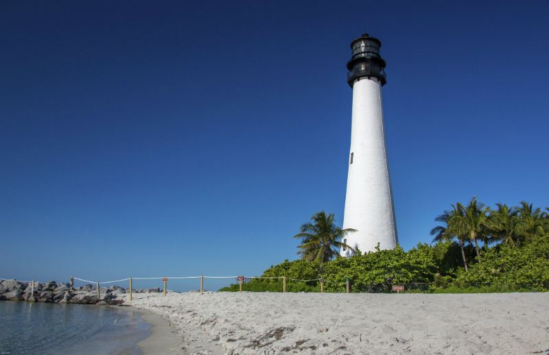Lighthouse in Miami, Florida