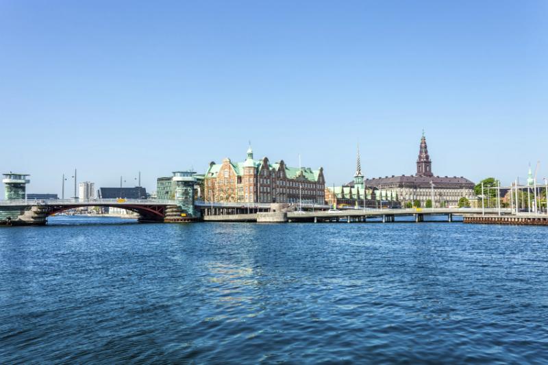 View over Copenhagen