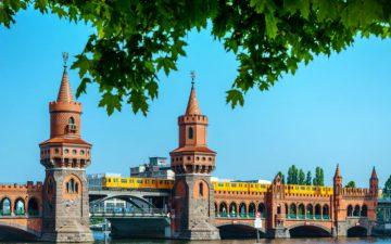 Oberbaum Bridge in Berlin, Germany