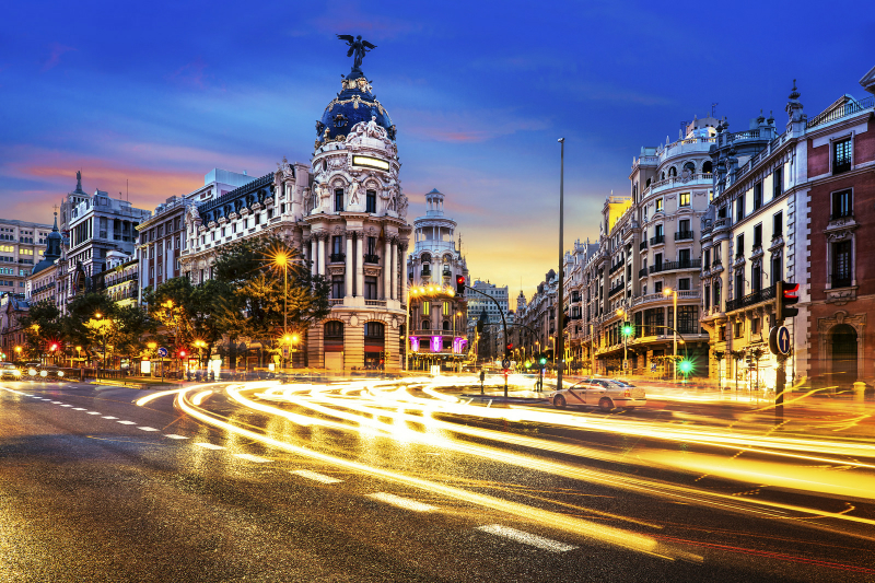 Madrid by Night