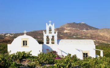Chapel in Santorini