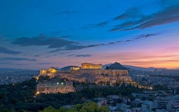 Acropolis at dawn