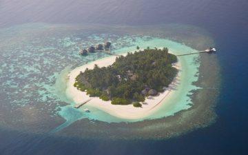 An island belonging to the Maldives