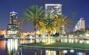 Orlando Night Scene Florida