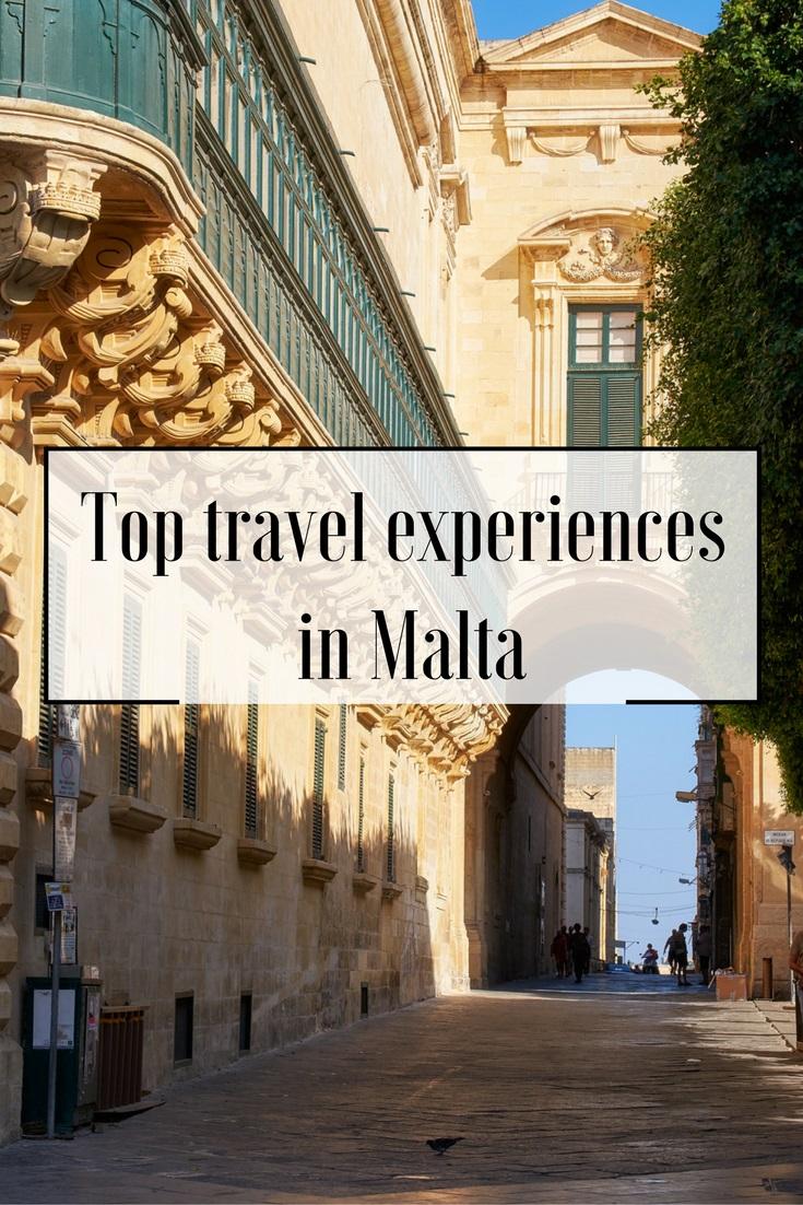 Top Travel Experiences in Malta