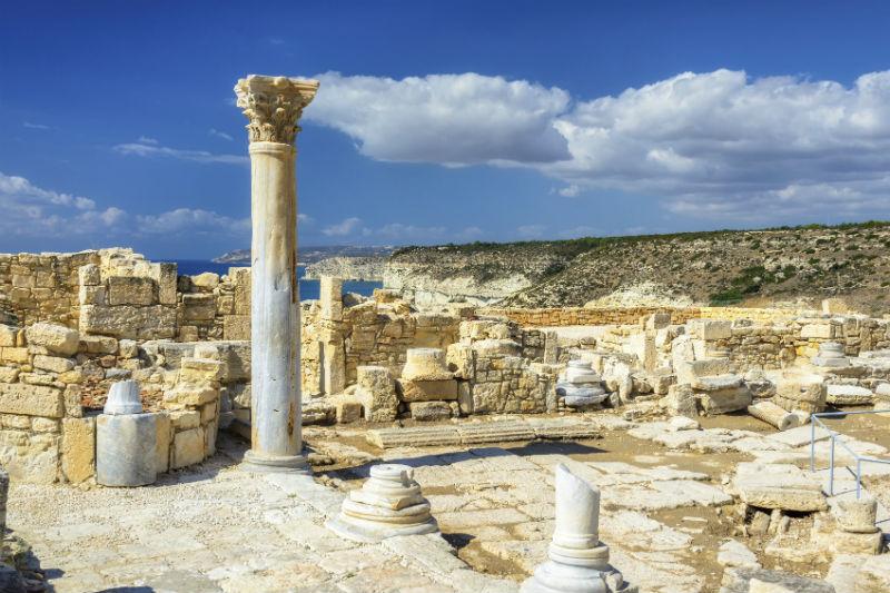 Greek temple, Cyprus