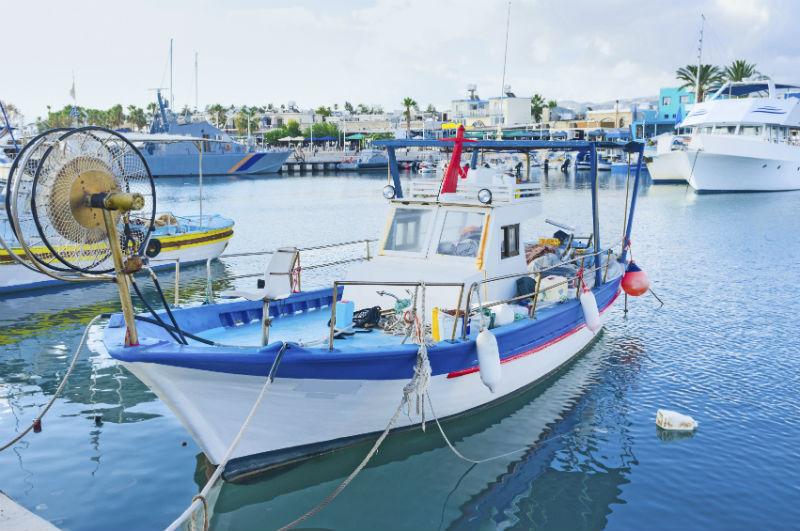 Latsi harbour, Cyprus