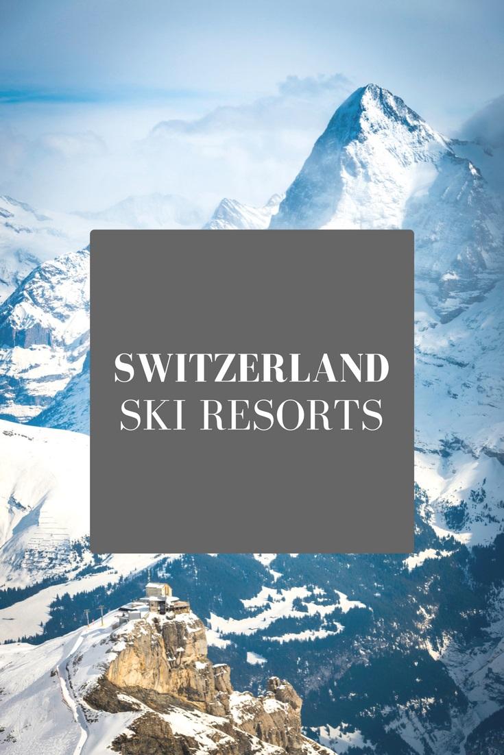 Switzerland ski resorts