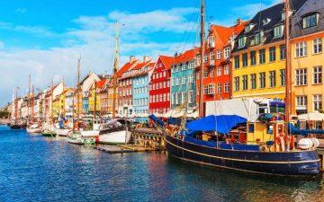 Nyhavn, Copenhagen , Denmark