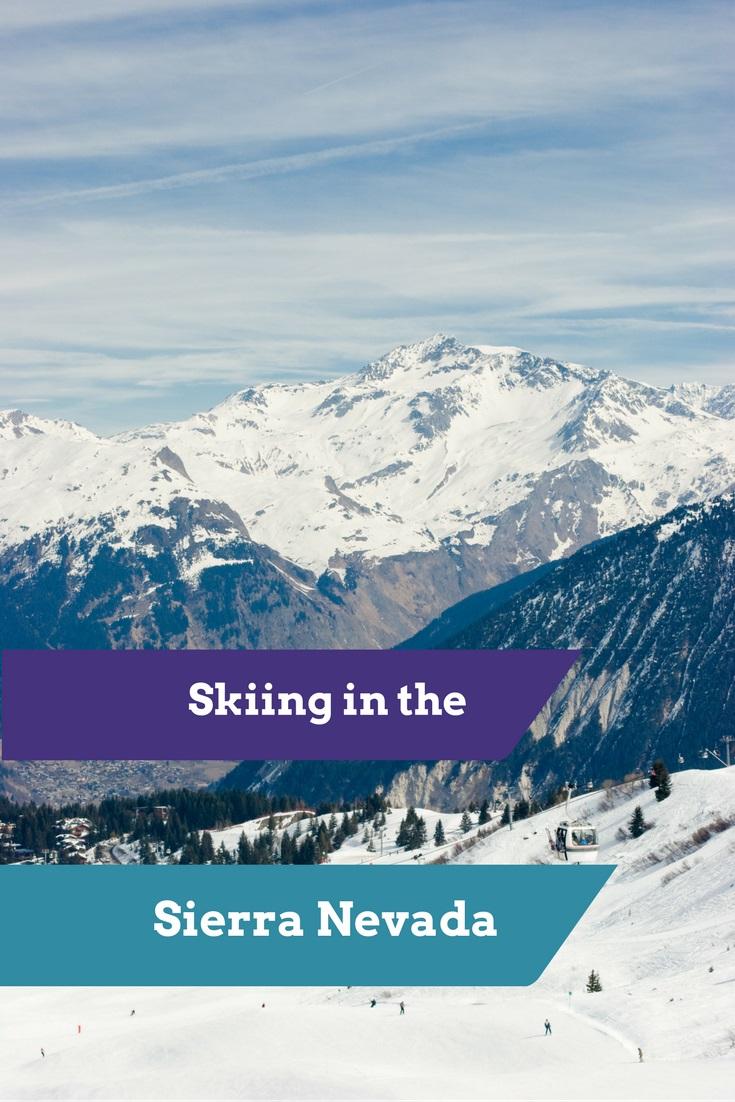 Skiing in the Sierra Nevada