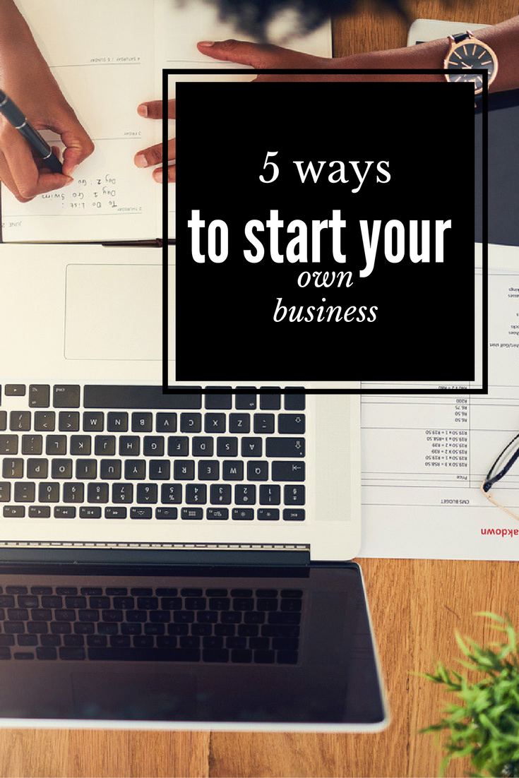5 ways to start your business for less