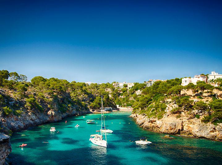 Cove in Majorca