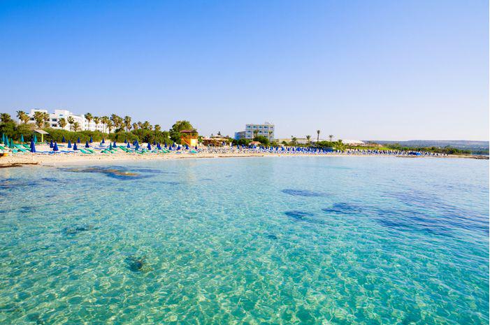 Macronissos beach Cyprus
