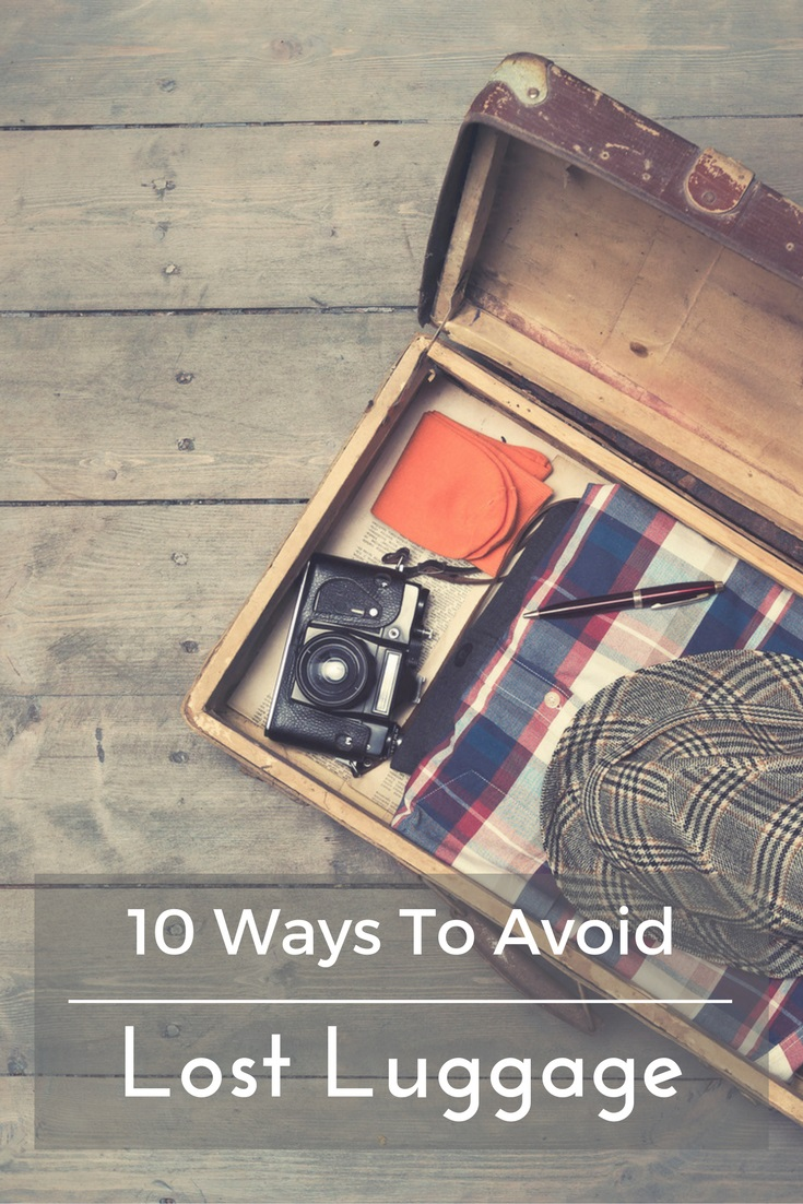 10 ways to avoid lost and damaged luggage at the airport