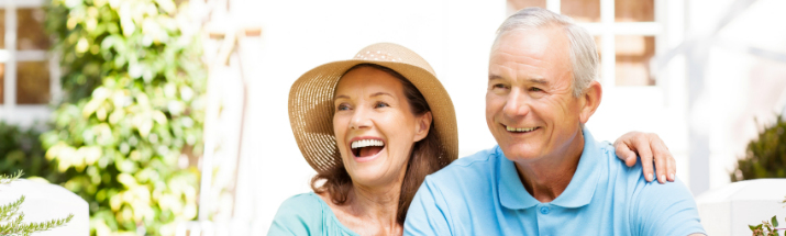 Mature couple making the most of retirement