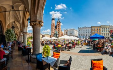 Main Market square of Krakow