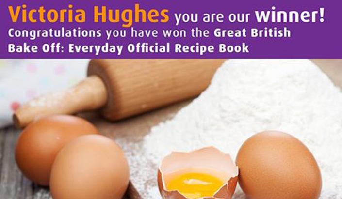 Victoria Hughes Competition Winner