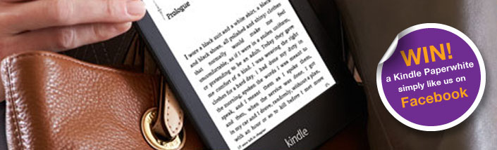 Win a Kindle banner