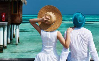 Couple in Maldives