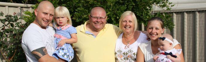 Liz Farr and family