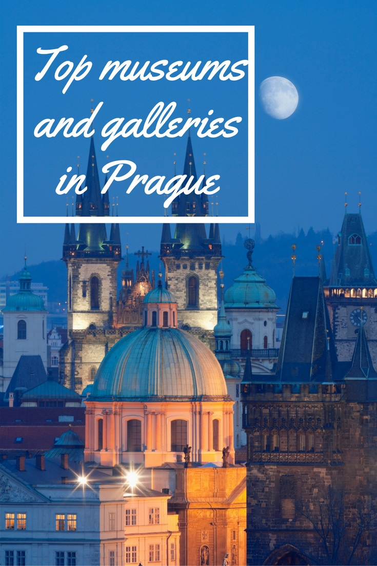 Explore Prague's top galleries and museums