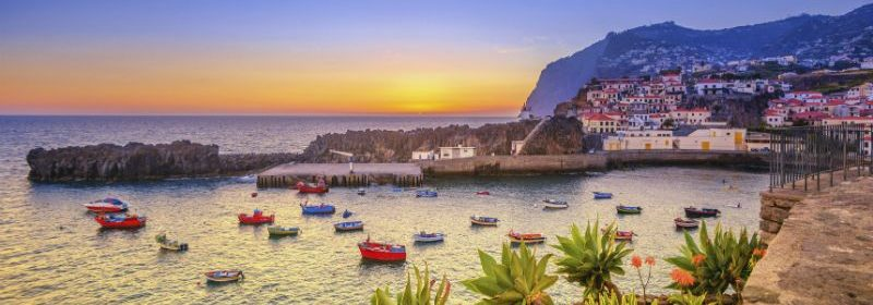 Sunset-at-Camara-de-Lobos-Madeira-Portugal