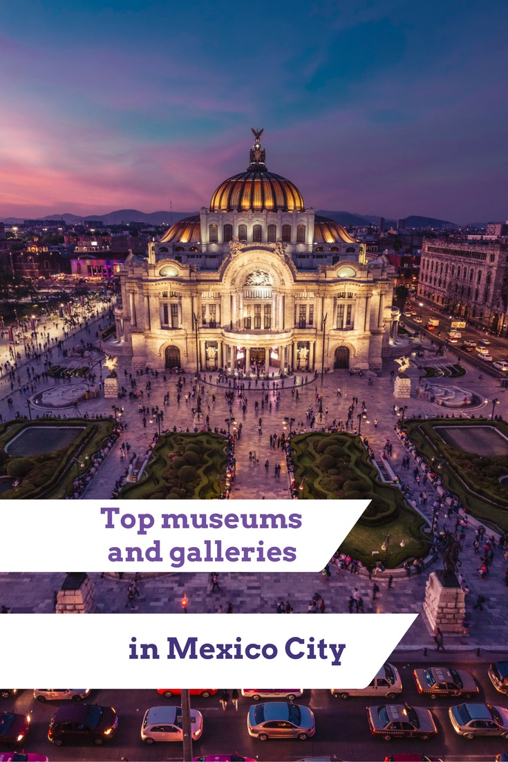Explore Mexico City's museums and galleries