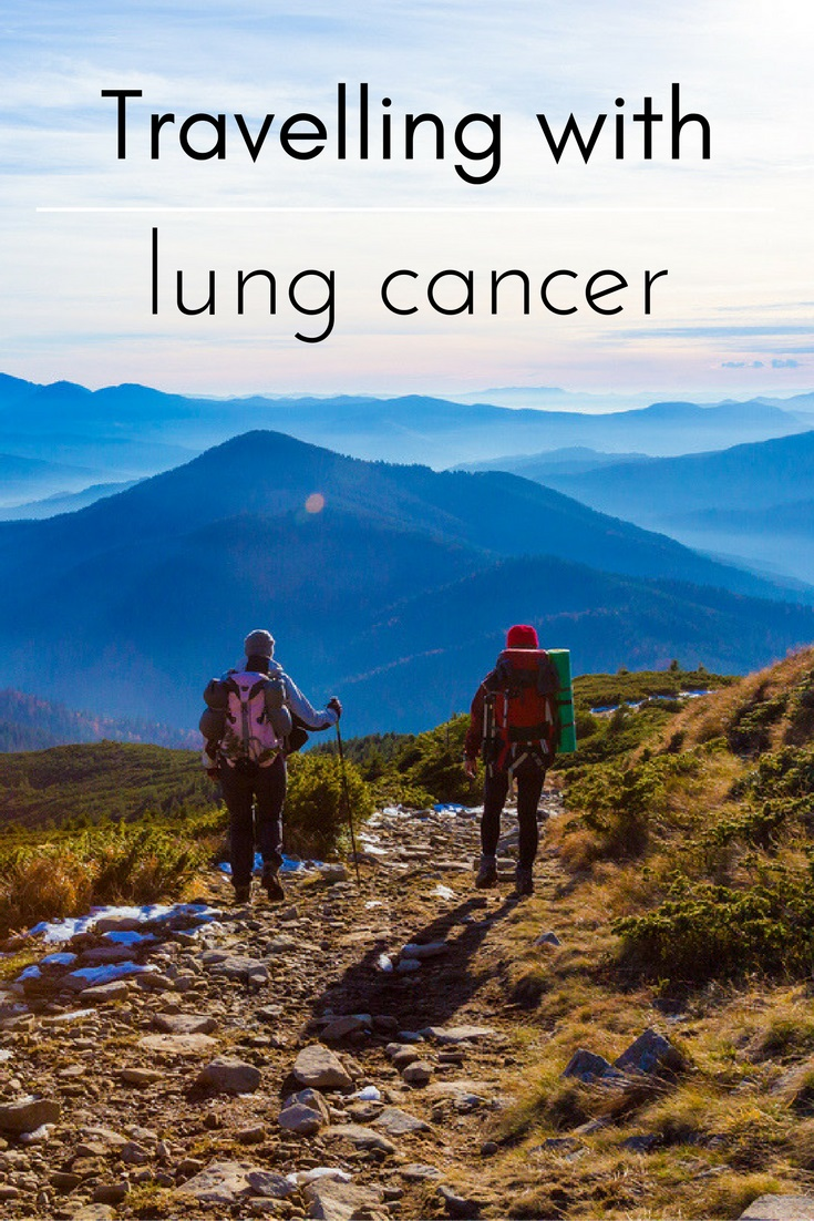 Tips for travelling with lung cancer