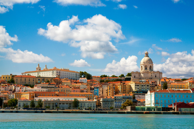 Lisbon from the Tagus River, Portugal