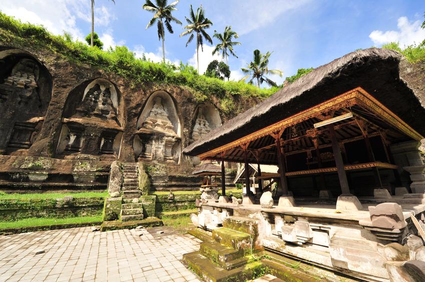 """Gunung Kawi, Bali, Royal tombstones"""""""