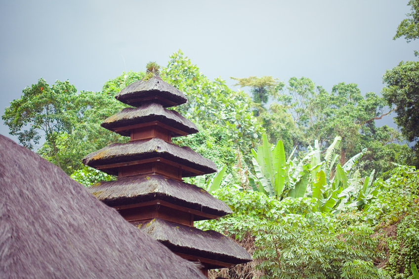 Pura Luhur Batukau Temple in Bali island, Indonesia