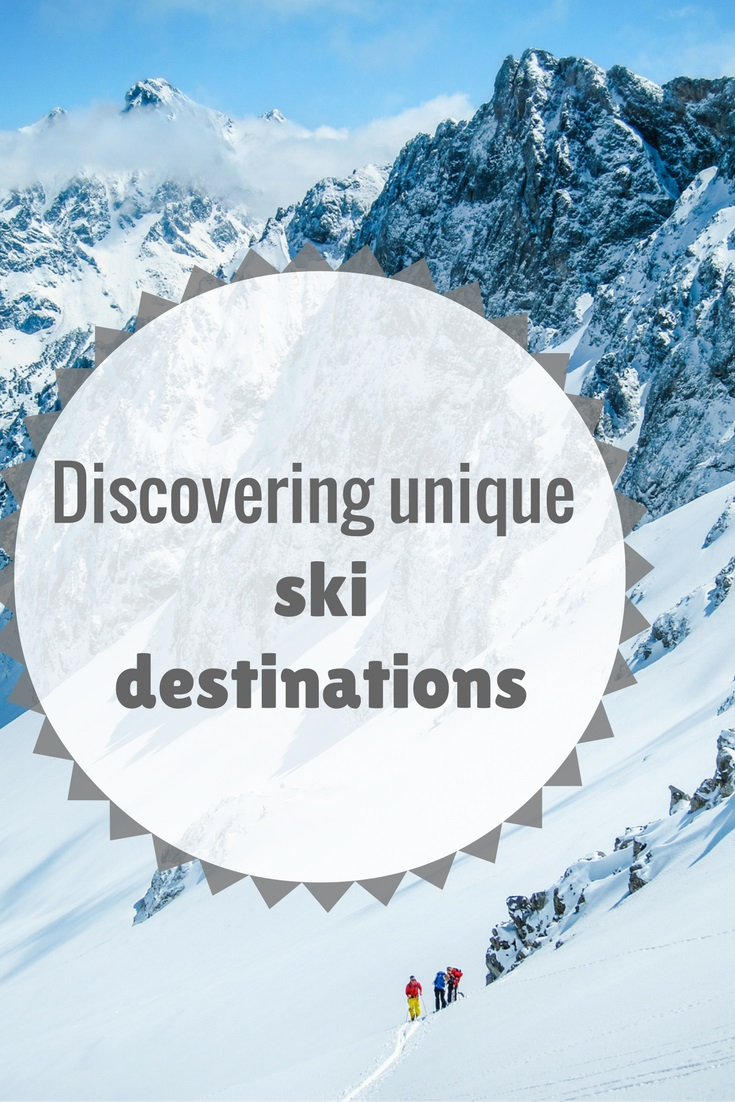 Unique ski destinations
